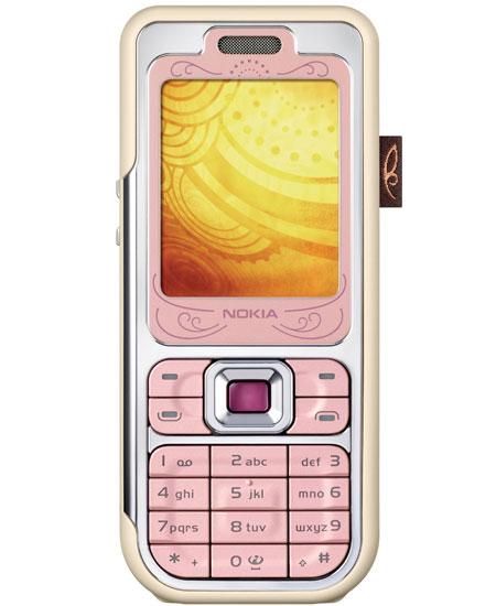 Nokia 7360 Powder Pink
